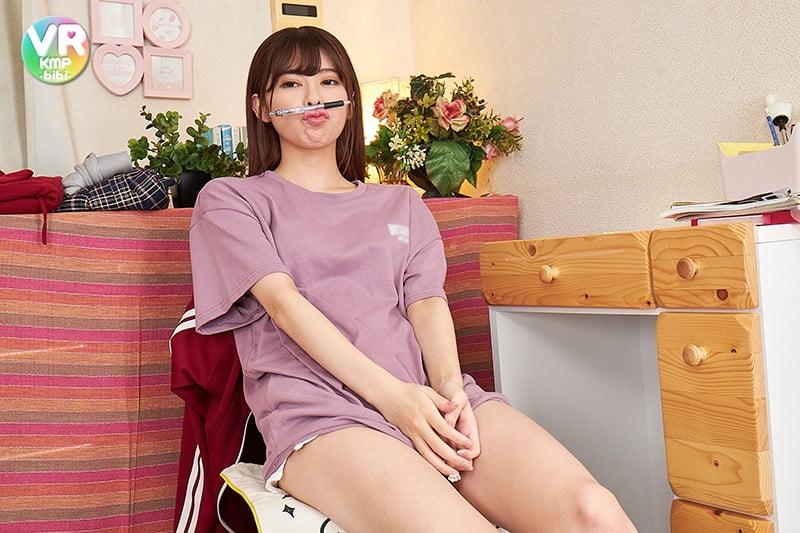 【VR】性欲ムンムンの敏感ちっぱいにたっぷりオイル責め授業 森日向子