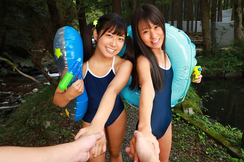 【VR】都会から自然教室に来た3年2組の女の子〜キャンプ場管理人による日焼け美少女わいせつ性交〜